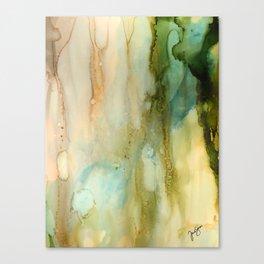 Rainy Window Canvas Print