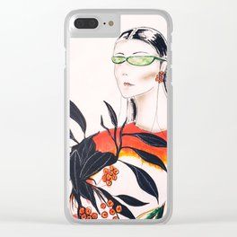 Valentino Spring Summer 2020 Clear iPhone Case
