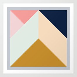Ultra Geometric III Art Print