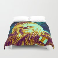 chewbacca Duvet Covers featuring Chewbacca by victorygarlic - Niki