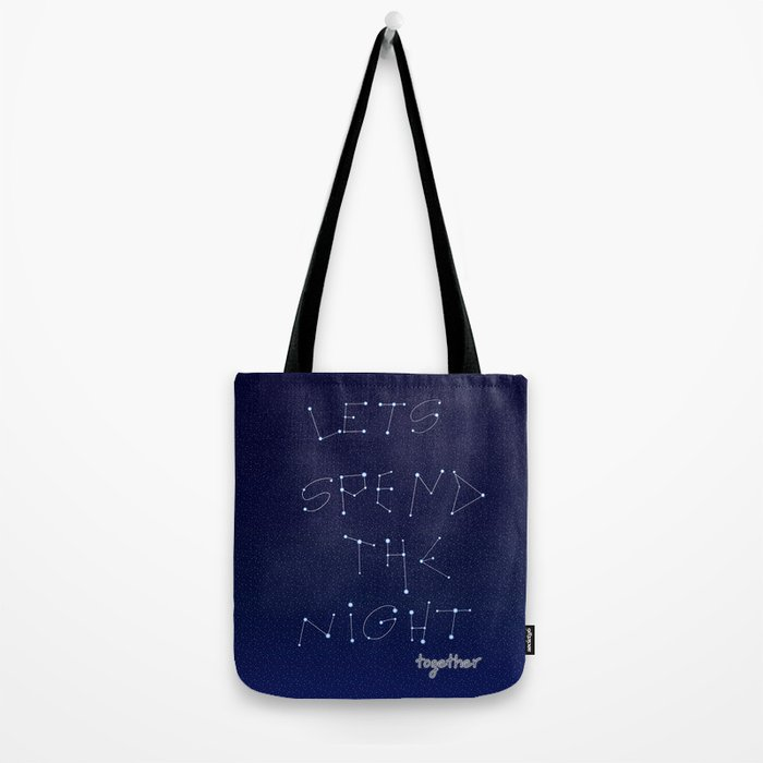 let's spent Tote Bag