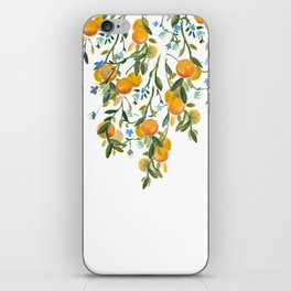 A Bit of Spring and Sushine Trailing Oranges iPhone Skin