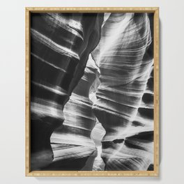 Waves of sandstone at Antelope Canyon Serving Tray