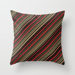 Just Stripes 3 Throw Pillow