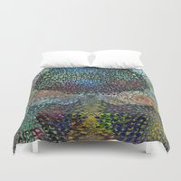 biology Duvet Covers featuring Tree of Life 2 - The Sacred Tree  by Klara Acel