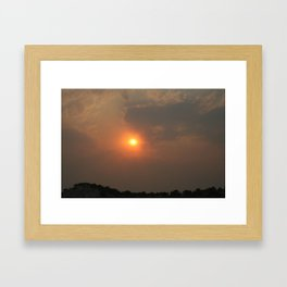 Devil's Halo Framed Art Print