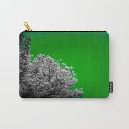 Gray Trees green Sky Carry-All Pouch
