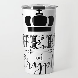 Queen of Crypto Travel Mug