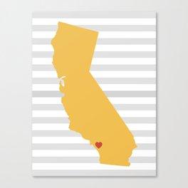 Temecula, California  Canvas Print