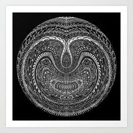 Tangled Orb Art Print