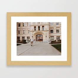 All Things are Full of Weariness Framed Art Print