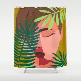 Mental health Shower Curtain
