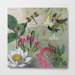 Enchanted Garden 3 Metal Print