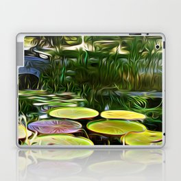Greenery Pond Laptop & iPad Skin