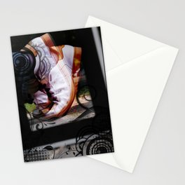 Running Abstract Stationery Cards