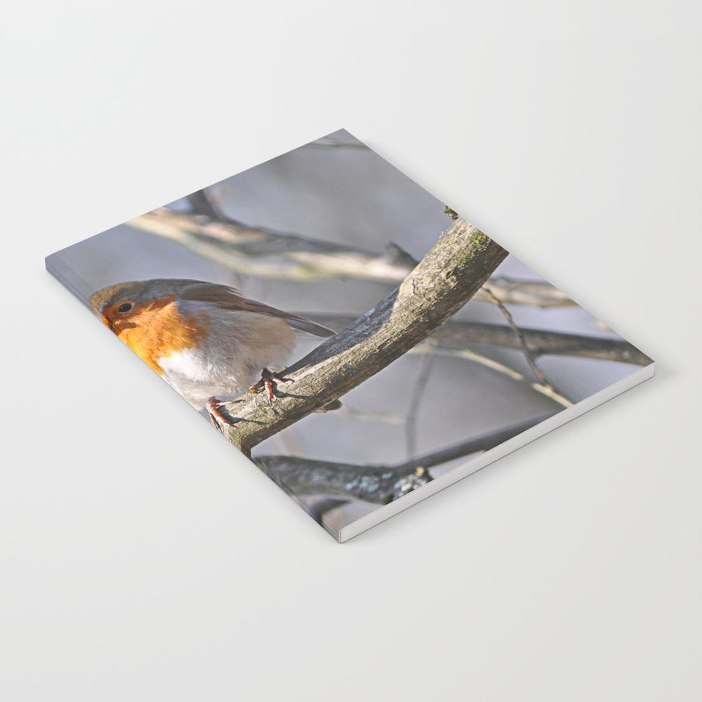 Robin Redbreast Notebook by Pirminnohr (NBK915575) photo