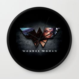 Wonder . Woman Wall Clock