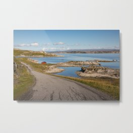 North Norway Metal Print