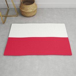 Flag of Poland - Polish Flag Rug