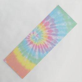 Pastel Tie Dye Yoga Mat