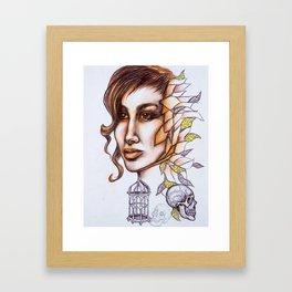 Birdcages Framed Art Print