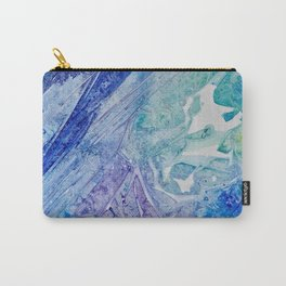 Water Scarab Fossil Under the Ocean, Environmental Carry-All Pouch