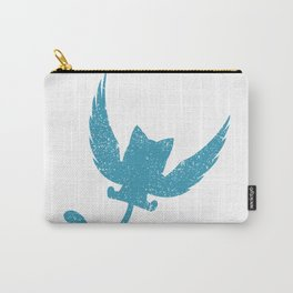 A Small Exceed of Fairy Tail Anime - Blue Happy Carry-All Pouch