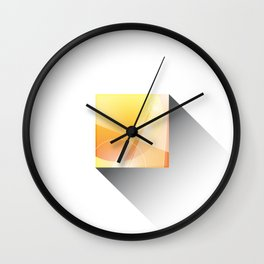 Minimal Mercury Wall Clock
