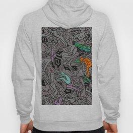 Kamasutra LOVE Doodle - Retro Colors 1 Hoody