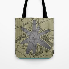 Geo Synchronous Tote Bag