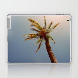 Palm tree under the sun Laptop & iPad Skin