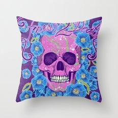 Fresh 2 Death Throw Pillow