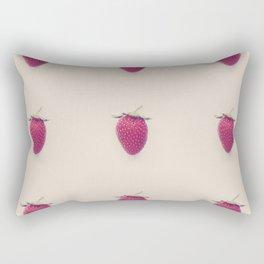 Strawberry Beret Rectangular Pillow
