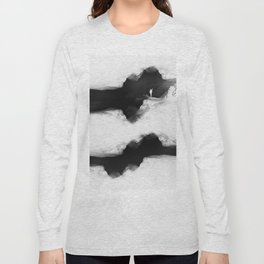 Hello from the The White World Long Sleeve T-shirt