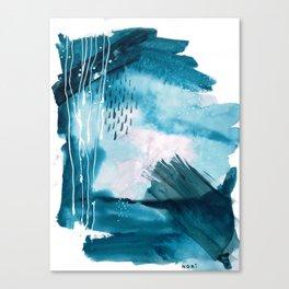 RIVULETS // thunder Canvas Print