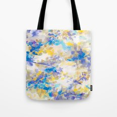 Canopy Blue Tote Bag