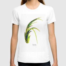 Tillandsia Paucifolia Air Plant Watercolors T-shirt