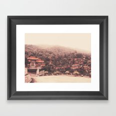 Temple  Framed Art Print