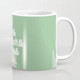 New girl squad last names. Coffee Mug