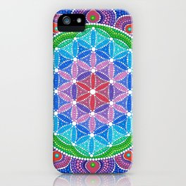 Lotus Flower of Life iPhone Case
