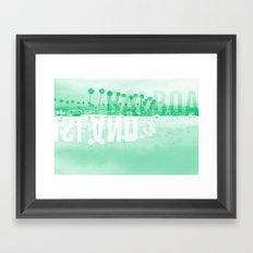 Balboa Island Framed Art Print