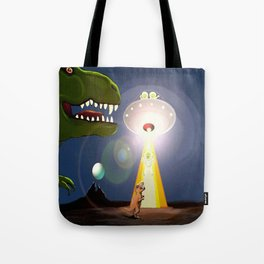 The Rex Files Tote Bag