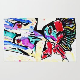 Bondage Watercolor Rug