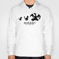 evolution Hoodies featuring evolution by Ainy A.