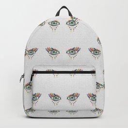 Eye See Rainbows And Stars Backpack