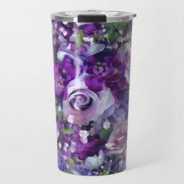 Romantic flowers III Travel Mug