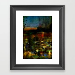 Somewhere in the countryside Framed Art Print
