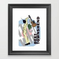Beet Townshend Framed Art Print