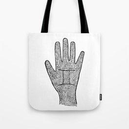 Gemini Hand / Hamsa Tote Bag