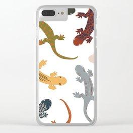 Salamanders Clear iPhone Case